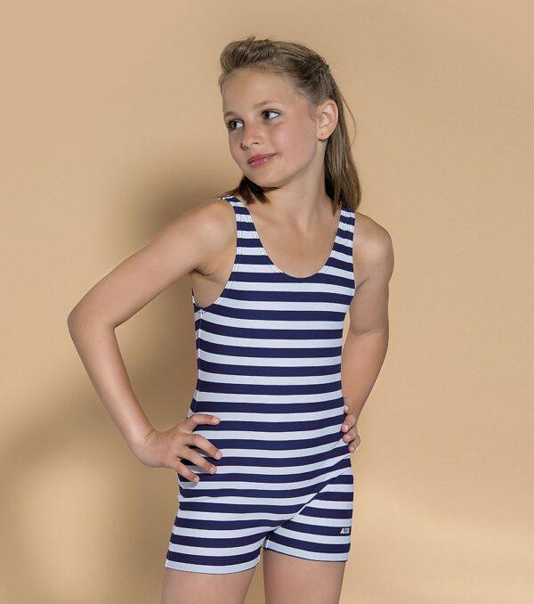 Dívčí pruhované plavky AXiS® ve stylu retro