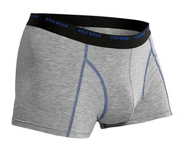 Pánské spodní prádlo modré prošití