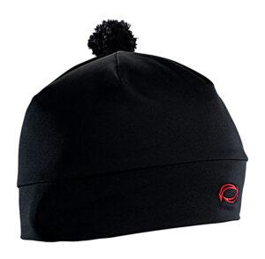 Unisex černá sportovní čepice s bambulkou AXiS®
